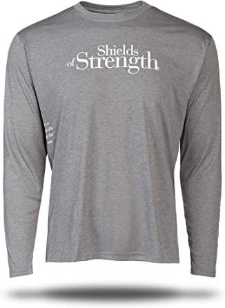 Amazon Com Shields Of Strength Sportek Heather Grey Long Sleeve Shirt Phil 4 13 Clothing Check out this exclusive look at philadelphia eagles practice on august 20, 2020. amazon com