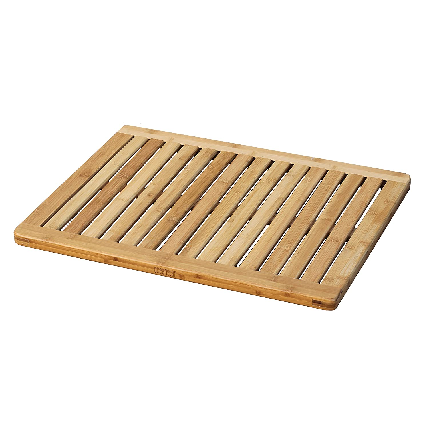 Amazon Oceanstar FM1163 Bamboo Floor and Shower Mat Home