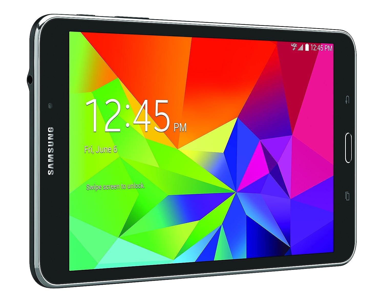 Amazon com: Samsung Galaxy Tab 4 4G LTE Tablet, Black 8-Inch