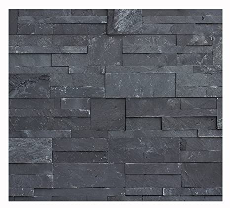 1 Muster W 011 Schiefer Wand Design Verblender Wandverkleidung Steinwand  Naturstein Fliesen Lager Verkauf Stein Mosaik Herne NRW: Amazon.de: Baumarkt
