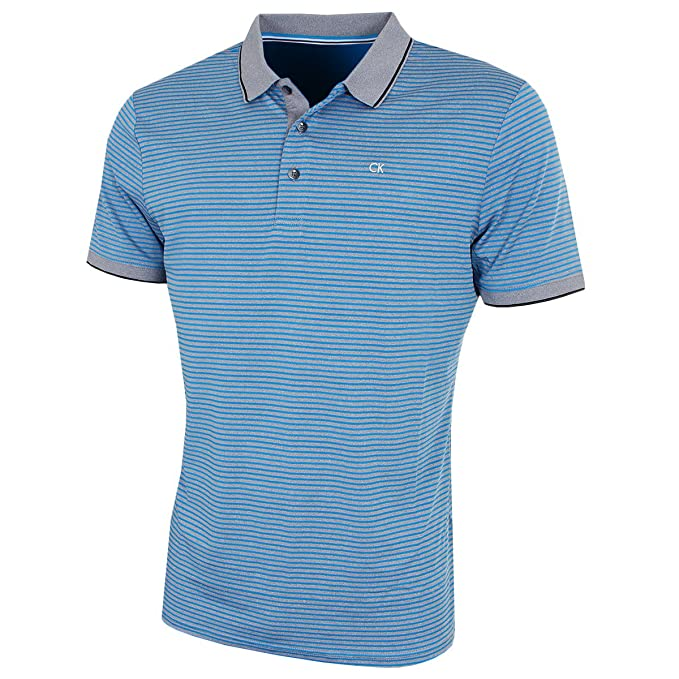 3d275cb8 Calvin Klein Golf Mens 2018 Static Polo Shirt: Amazon.co.uk: Clothing