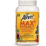 Nature's Way Alive! Max3 Daily Adult Multivitamin, Food-Based Blends (1, 060mgper serving) & Antioxidants, 180 Tablets