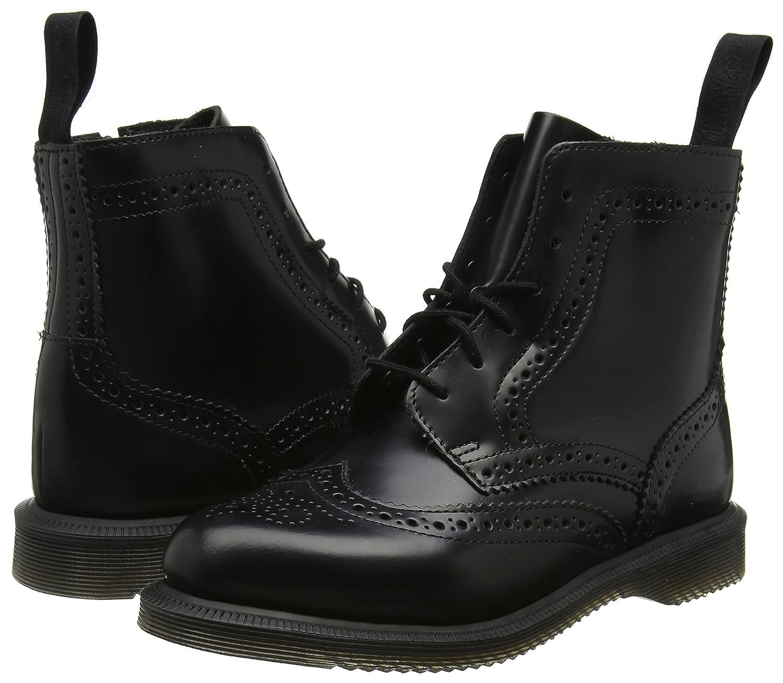 Dr. Martens B01MZ4QAHD Women's Delphine Fashion Boot B01MZ4QAHD Martens 8 Medium UK (10 US)|Black Polished Smooth Leather a33641