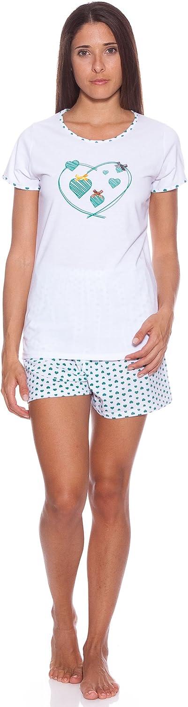 KUMY Pijama Señora Corazón Tirante Único S: Amazon.es: Ropa y ...