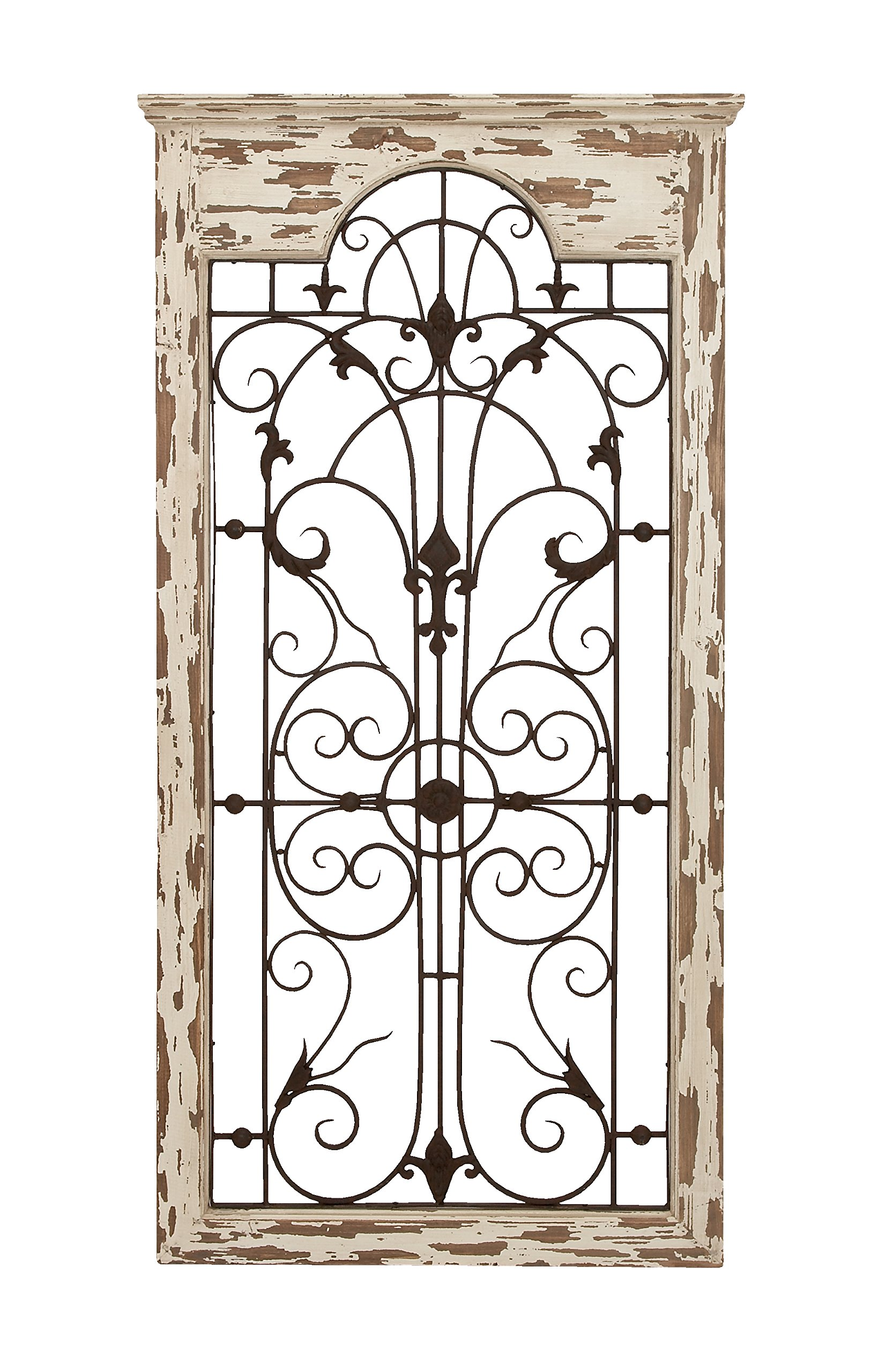 Deco 79 Magical Wooded Gate Style Wall Plaque by Deco 79