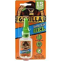 Gorilla Glue Super Glue Gel, Fast-Setting, Thicker Controlled Formula, Anti-Clog Cap, Versatile Cyanoacrylate Glue…