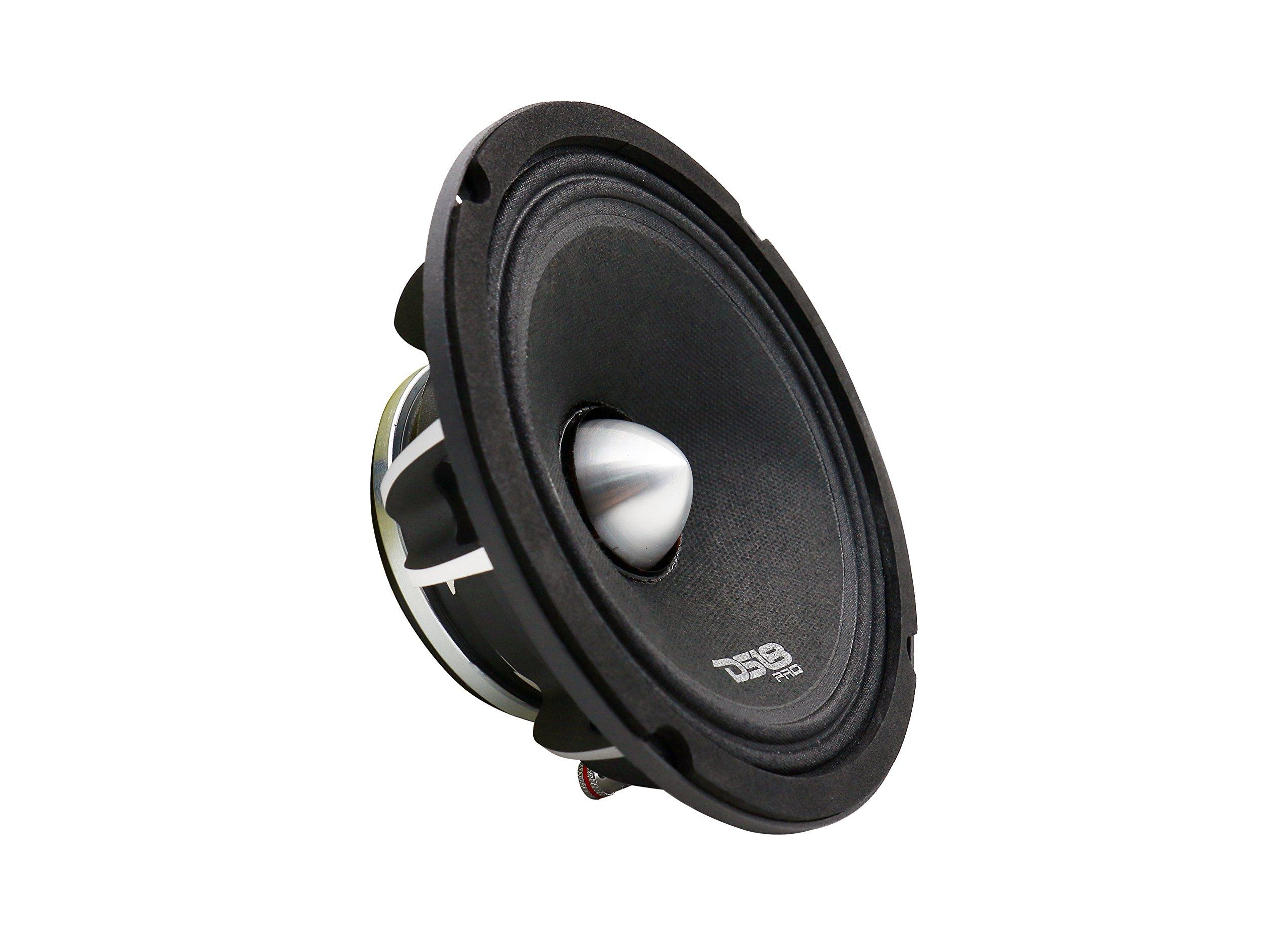 DS18 PRO-FR6NEO Loudspeaker- 6.5'', Full-Range, Silver Aluminum Bullet, 500W Max, 250W RMS, 4 Ohms, Neodymium Magnet - The Most Elegant Neodymium Full Range Loudspeakers Available
