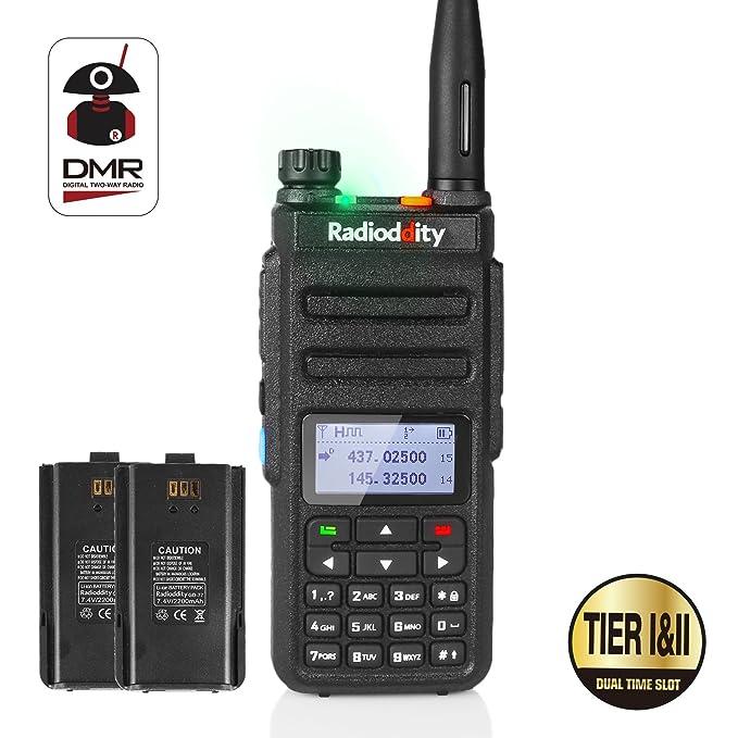 51 opinioni per Radioddity GD-77 Dual Band Dual Time Slot DMR Digital / Analog Ricetrasmittente
