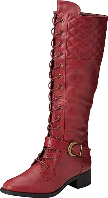 Dream Rider Lace Up Boots High
