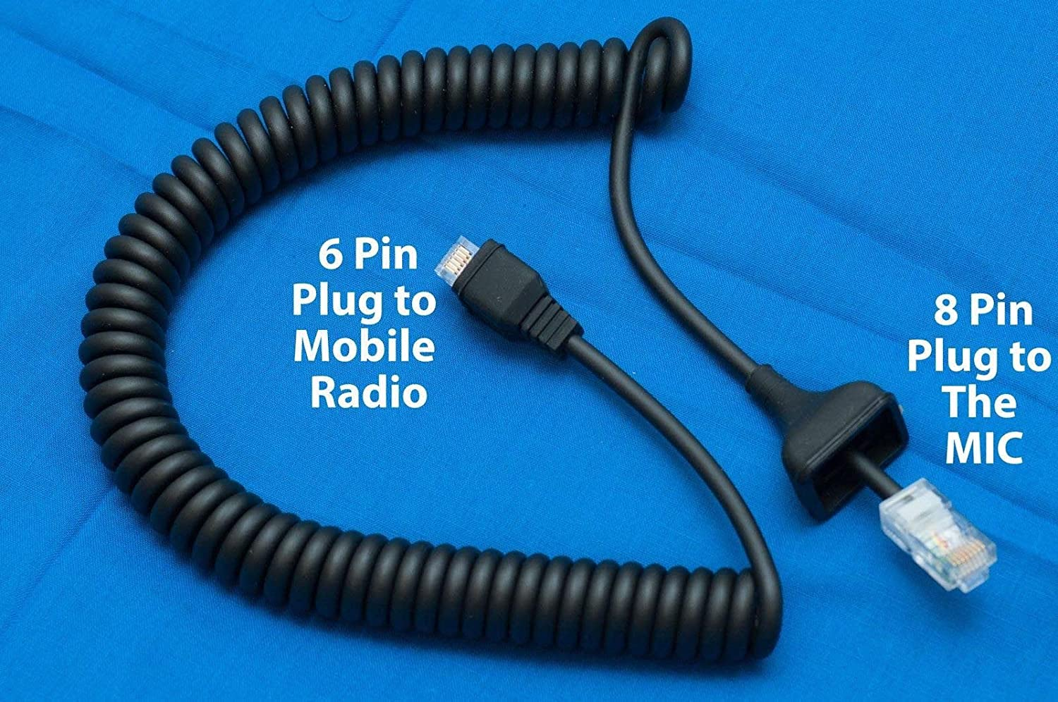 new Replacement Cable Cord for KMC-30  Kenwood Radio TK-830 TK-808 TK-780 TK-750