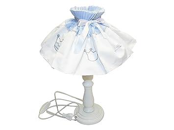 Maison Nougatine Prince Lampe Chevet Décoration Bleu: Amazon