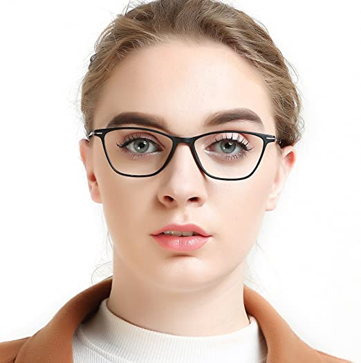 5e2fbe1728c OCCI CHIARI Thin TR90 Rectangular Frame Womens Fashion Reading Glasses+1.5