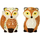 Boston Warehouse Foxy Foxes Salt and Pepper Shaker Set, Not Applicable