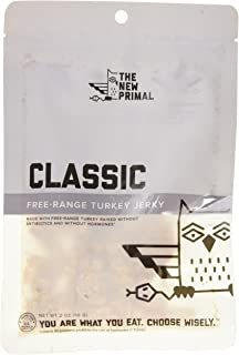 product image for The New Primal 100% Free-Range Turkey Jerky, Whole30 & Paleo Approved, Gluten, Dairy & Soy Free, 2 Oz