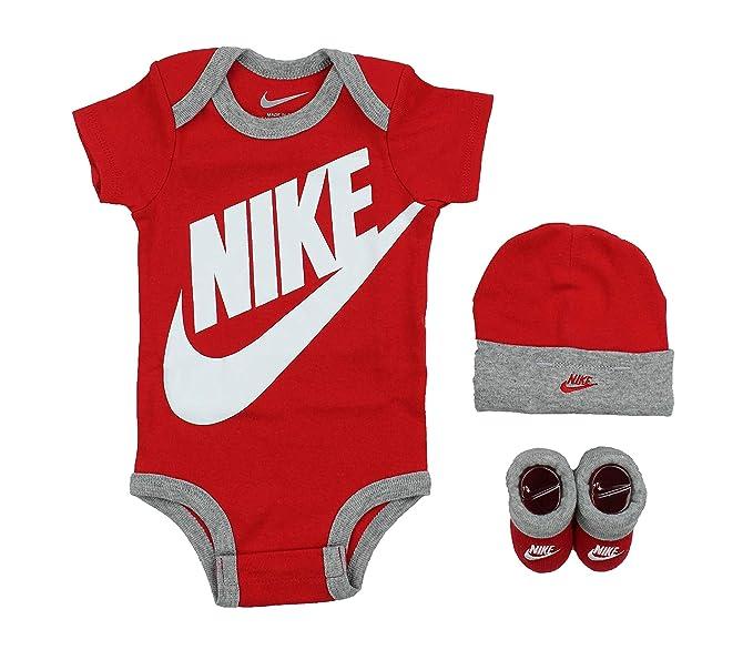 158751f99 Nike Futura Logo 3 Piece Infant Set: Amazon.ca: Clothing & Accessories