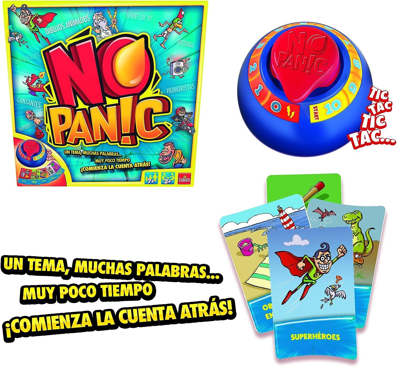Goliath- Juego de Mesa No Panic, Multicolor (70366): Amazon.es ...