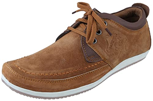 ccdd57f52c0 Marshal Men s Tan Genuine Leather Casual Shoes 11 UK  Buy Online at ...