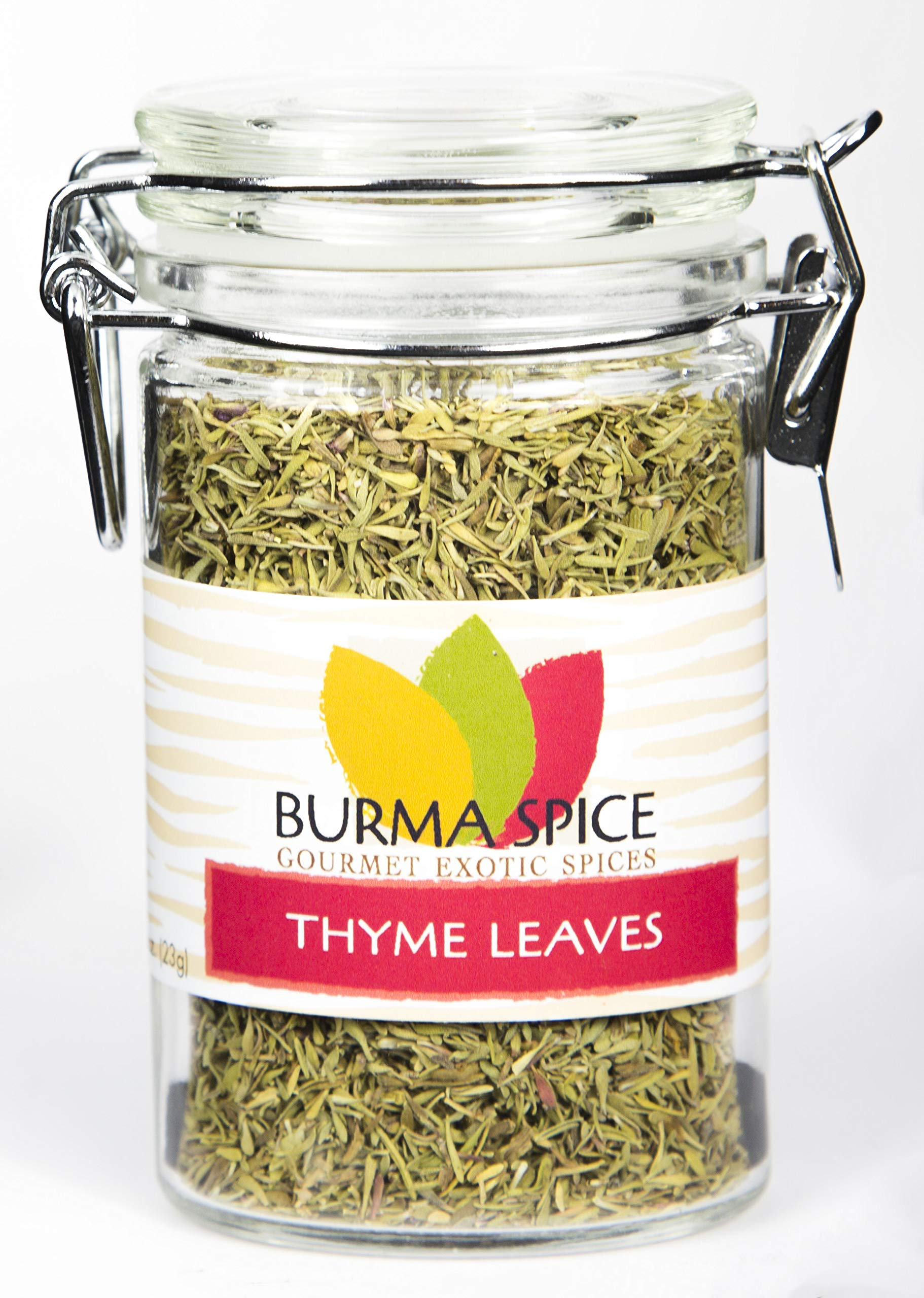 Thyme Leaves : Dried Herb, Spice, Seasoning : Kosher (0.8oz.)