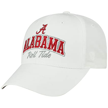 4c6836653 Top of the World Alabama Crimson Tide Official NCAA Adjustable Advisory Hat  Cap 444857