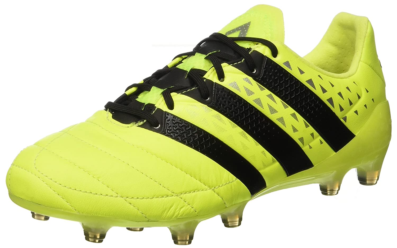 Adidas Herren Ace 16.1 Fg Leder Fußballschuhe, Schwarz