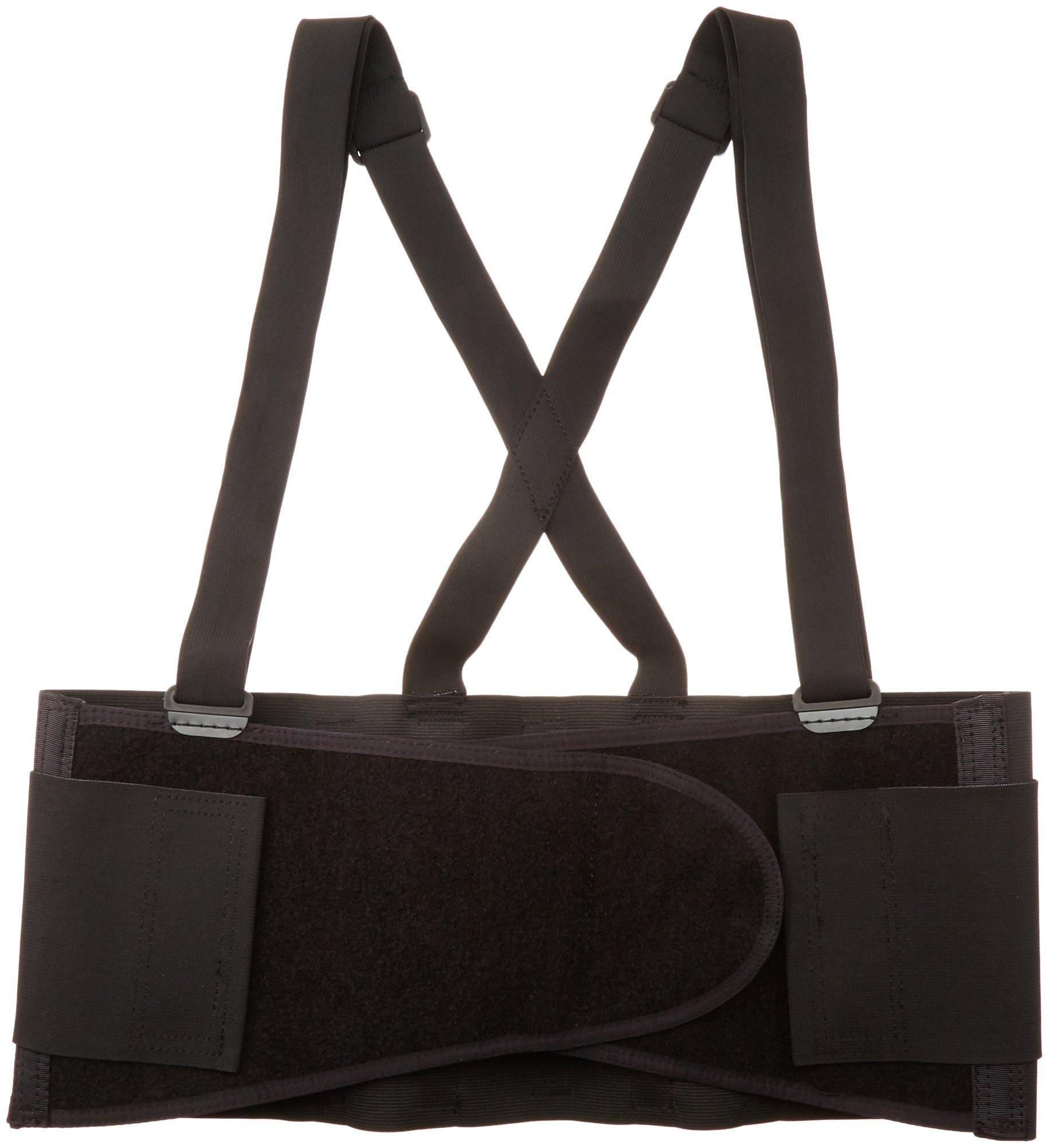 CLC Custom Leathercraft 5000X Elastic Back Support Belt Fits Waists, 46-Inch to 56-Inch, X-Large
