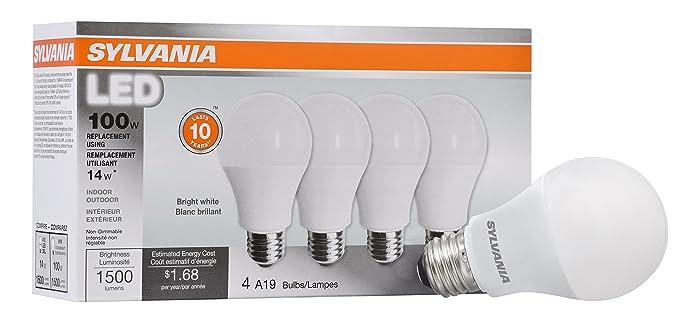Top 9 Home Light Bulb Sylvania 1600 Lumens
