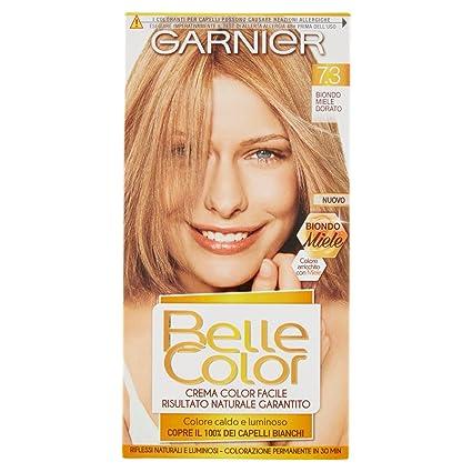 Garnier Colorazione Permanente Per Capelli Belle Color Risultato Naturale E Luminoso 73 Biondo Miele Dorato