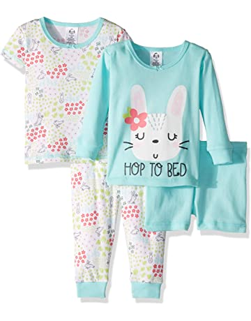 46a0c786da2a6 Gerber Girls 4-Piece Pajama Set