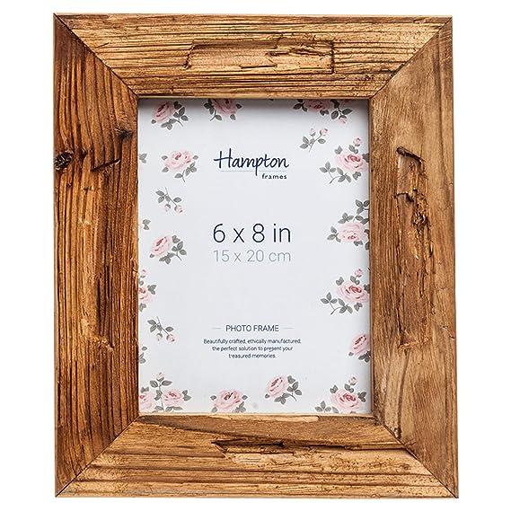 dri14568 rbol de 5 cm de ancho, perfil envejecido marco de fotos de madera 6 x 8 (15 x 20 cm)...: Amazon.es: Hogar