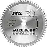 Skil 2610395706 Lame de scie circulaire en carbure de tungstène pour Skil 5064, 5065, 5165 et 5265 184 mm