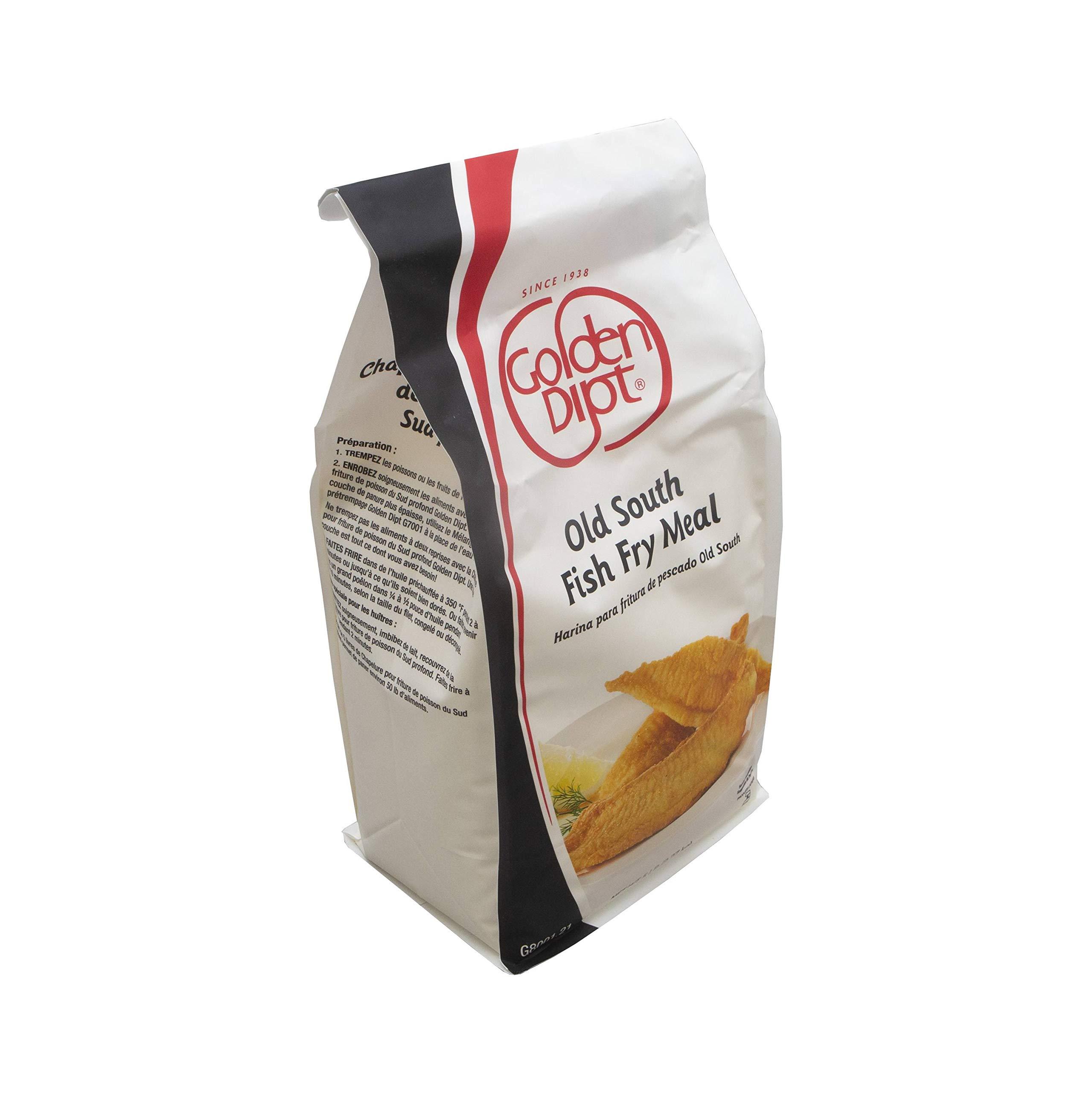Golden Dipt Old South Fish Fry Mix, 5 Pound - 6 per case. by Golden Dipt (Image #1)