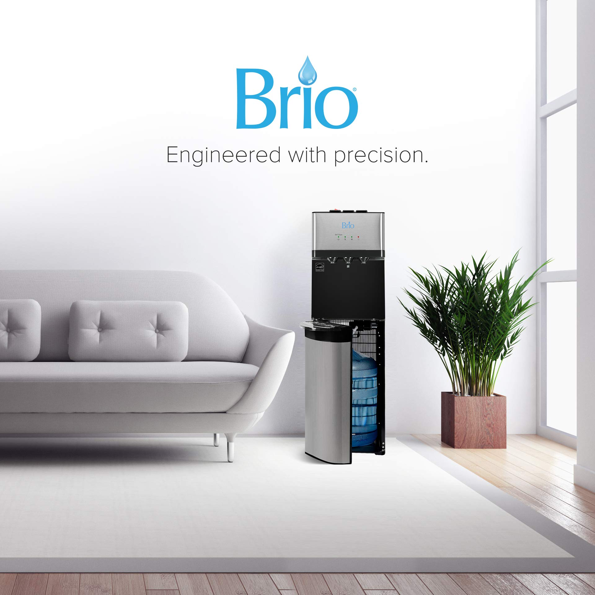 Brio Self Cleaning Bottom Loading Water Cooler Water Dispenser - Limited Edition - 3 Temperature Settings - Hot, Cold & Cool Water - UL/Energy Star Approved by Brio (Image #5)
