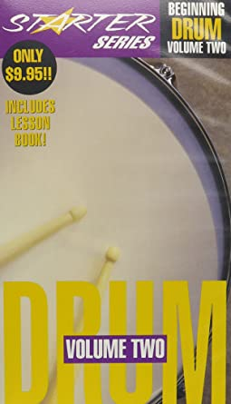 Amazon.com: Beginning Drums 2 [VHS]: Various: Movies & TV
