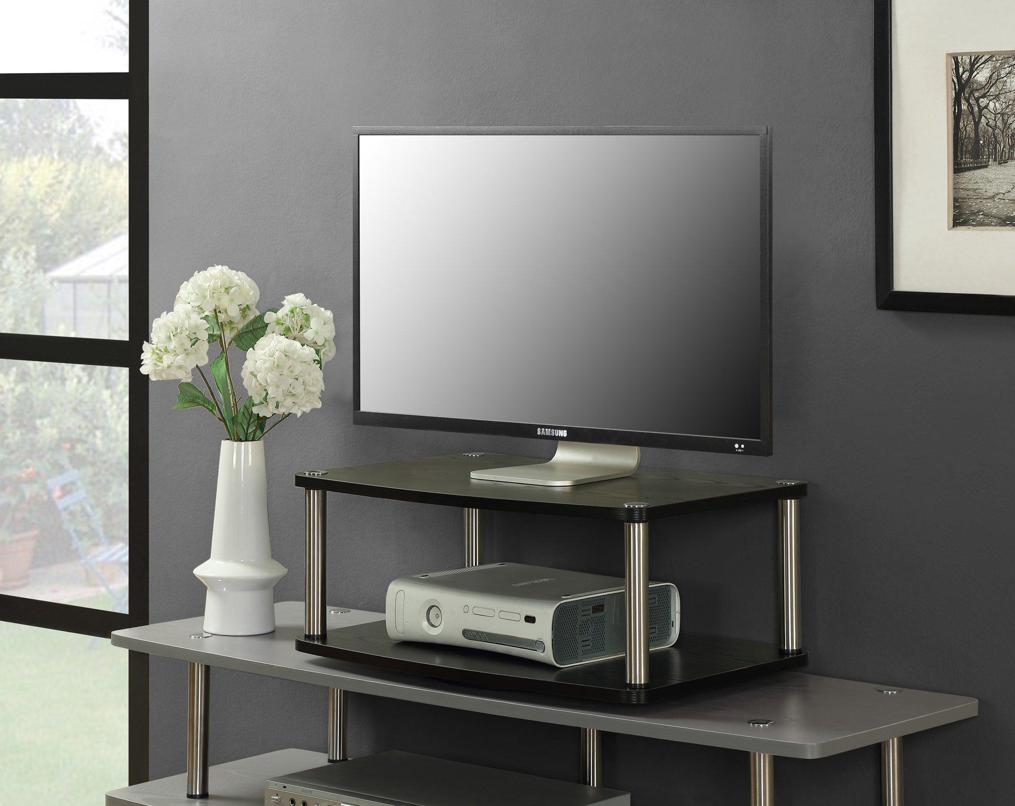 Convenience Concepts Designs-2-Go 2-Tier Swivel TV Stand