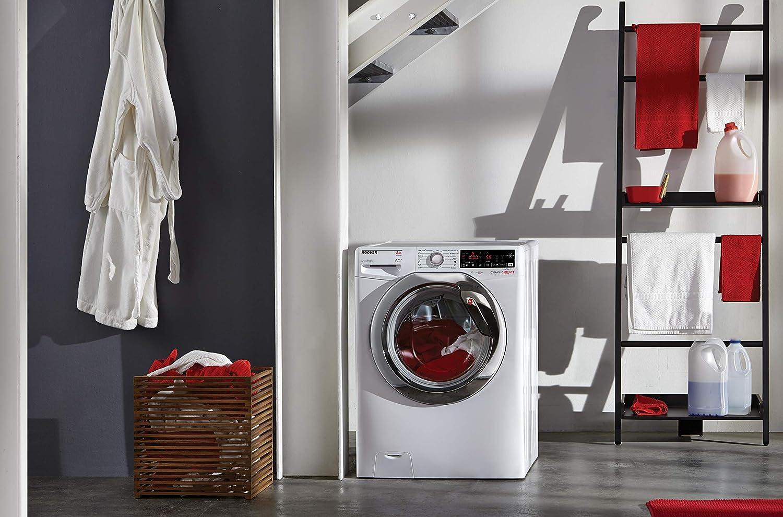 lavadora Hoover 8 kg NFC, dxoa 68ahc3-s: Amazon.es: Hogar