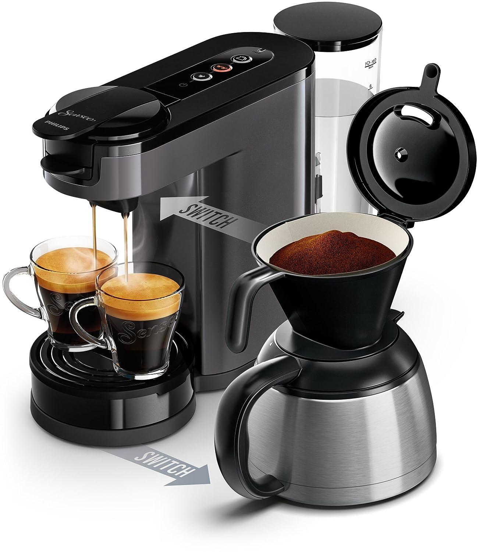 Senseo HD6591/20 - Cafetera (Independiente, Máquina de café en ...