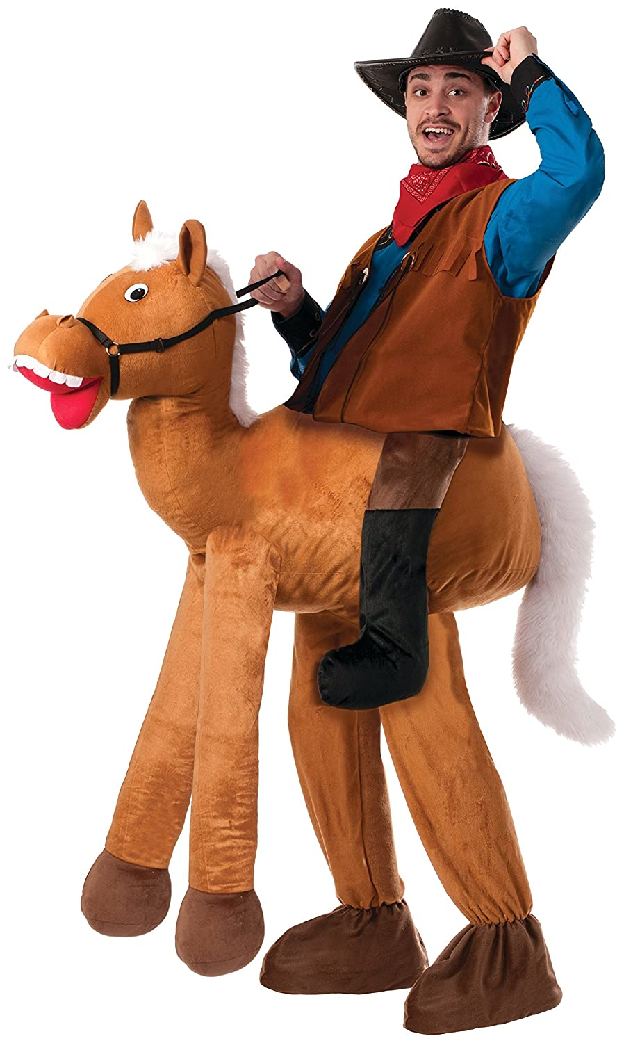 Amazon forum novelties mens ride a horse costume brown amazon forum novelties mens ride a horse costume brown standard clothing solutioingenieria Image collections