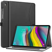 Fintie Case for Samsung Galaxy Tab S5e 10.5 2019 Model SM-T720/T725, Multi-Angle Viewing Stand Cover with Packet Auto Sleep/Wake Feature, Black