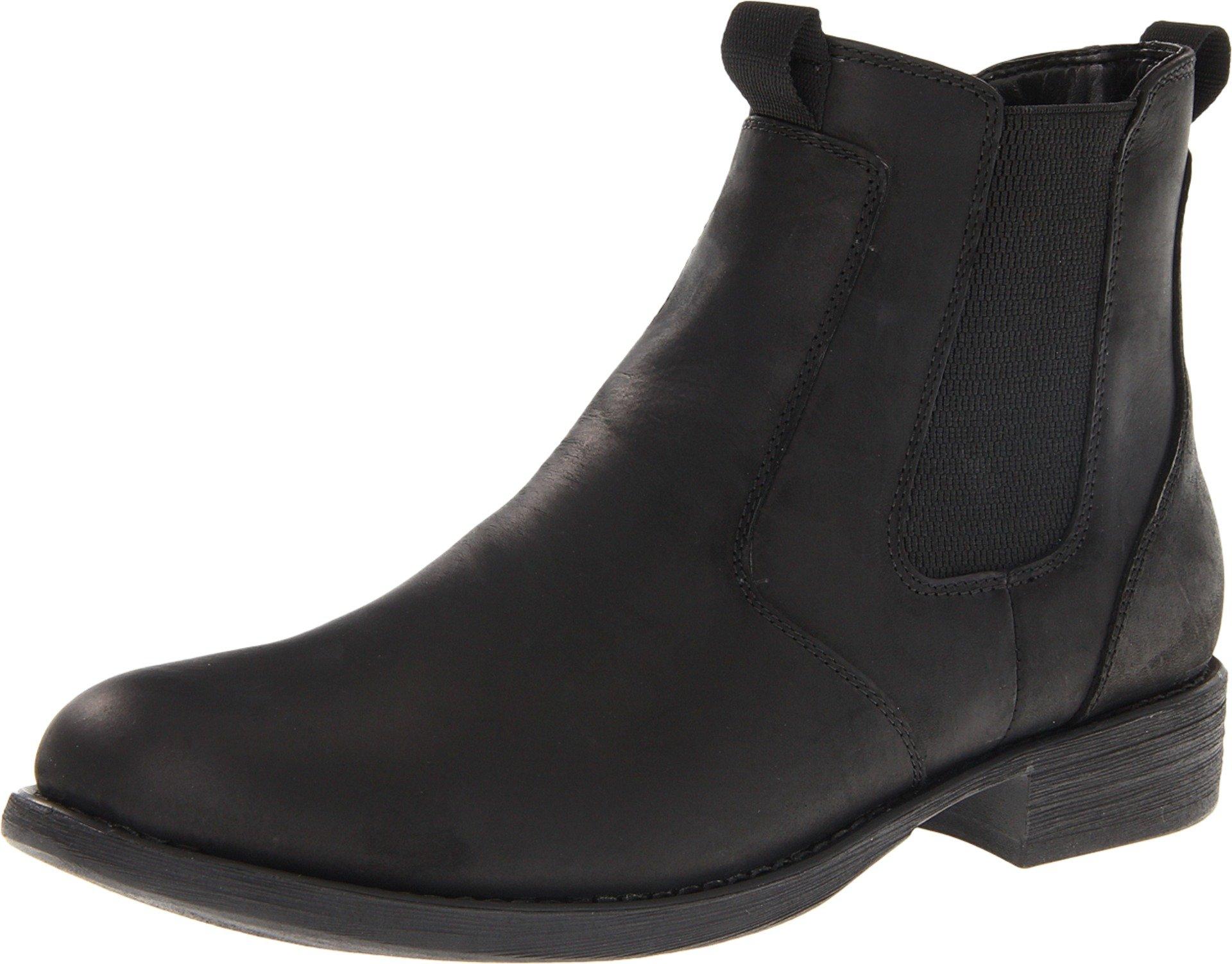 Eastland Men's Daily Double Chelsea Boot,Black,11 D US