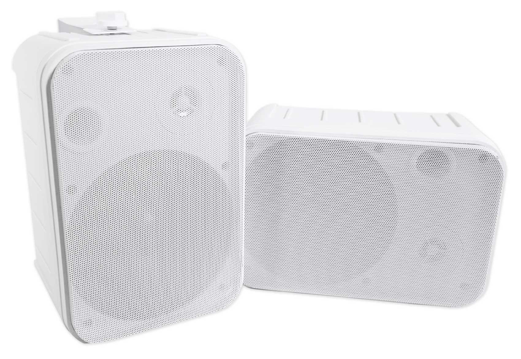 Pair Rockville HP65S 6.5'' Outdoor/Indoor Home Theater Speakers w/Swivel Bracket by Rockville