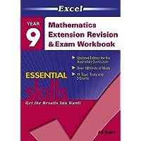 Excel Essential Skills: Mathematics Extension Revision & Exam Workbook Year 9
