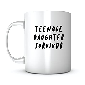 Amazon Teenage Daughter Survivor Mothers Day Gift Mug Ideas