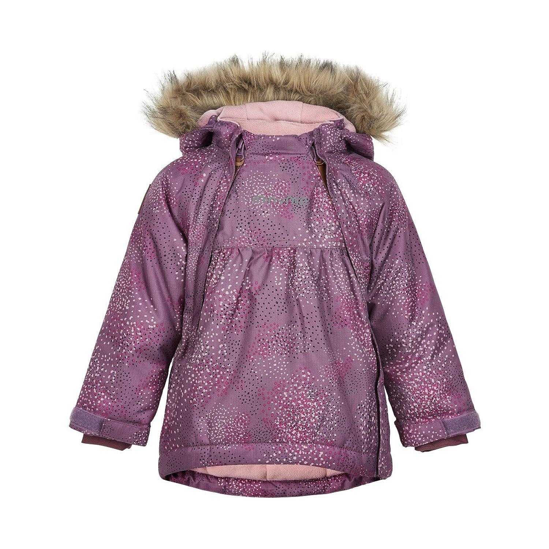 160276 Le 76 -Snow jacket w. AOP Grapeade 104