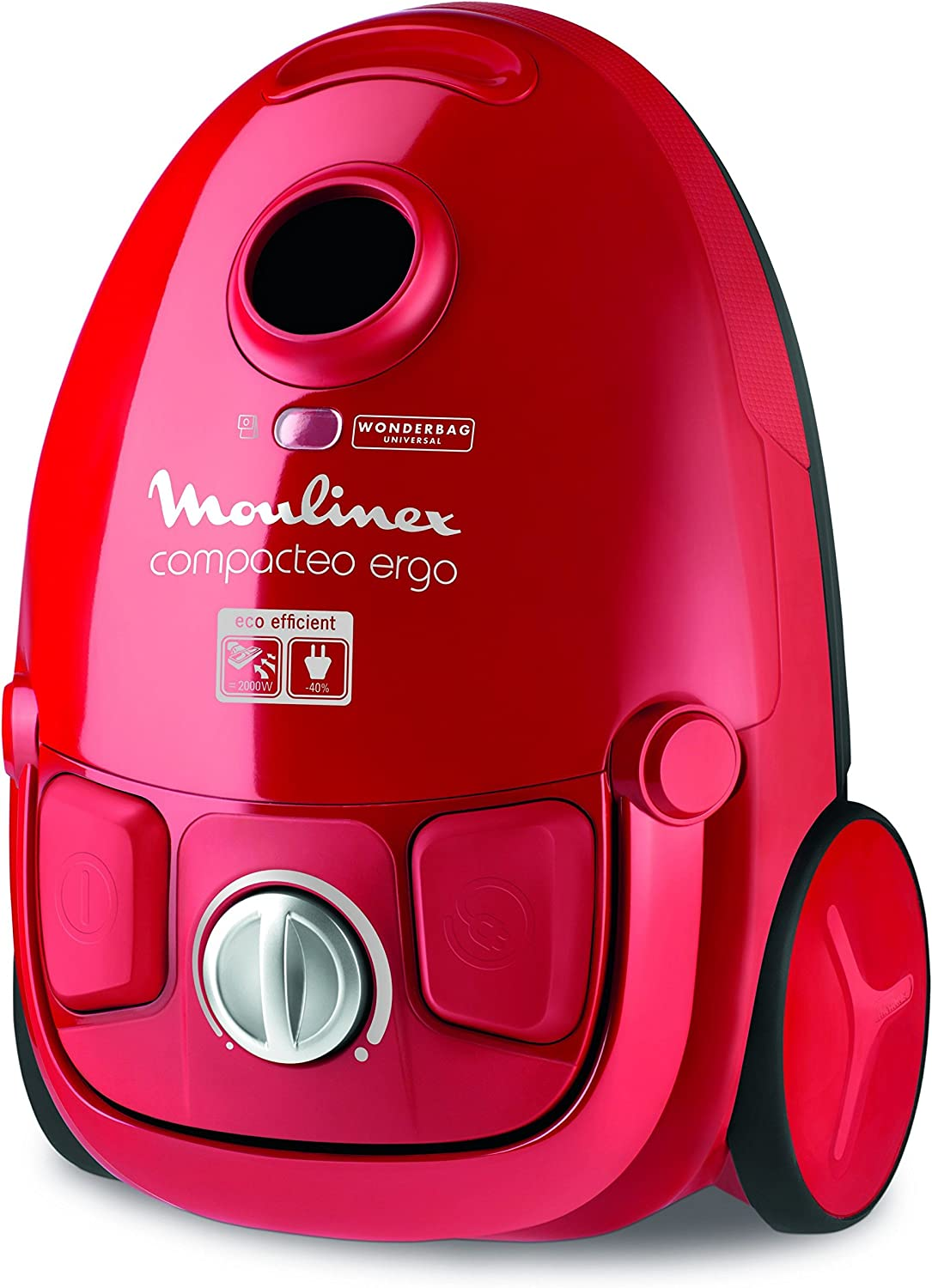 Aspiradora MOULINEX, Compacteo Ergo MO5233PA, color rojo: Amazon ...