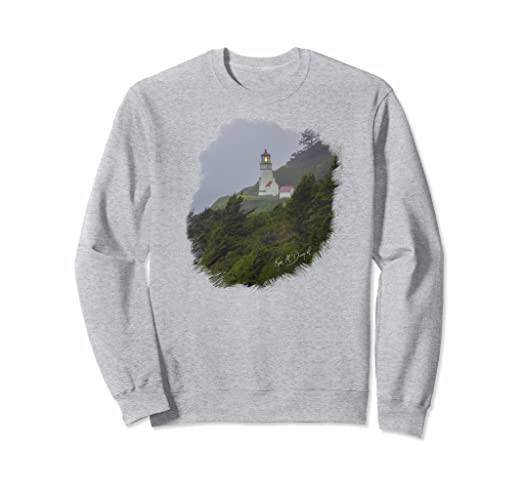 Lighthouse in Fog Sweatshirt