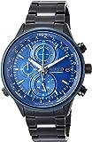 [ワイアード]WIRED 腕時計 WIRED クロノグラフ 青文字盤 10気圧防水 AGAW450 メンズ