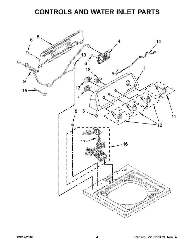 Amazon Com Whirlpool W11038689 Inlet Valve Appliances