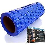 Fit Nation Faszienrolle - Foam Roller Set zur Selbstmassage mit Übungsbuch - Sport Massagerolle Für Anfänger, Profis, Damen & Herren
