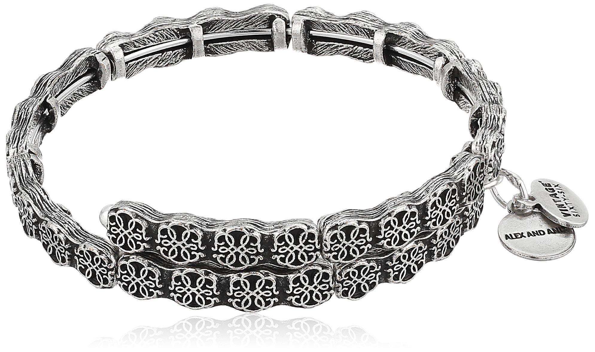 Alex and Ani Path of Life Rafaelian Silver Wrap Bracelet