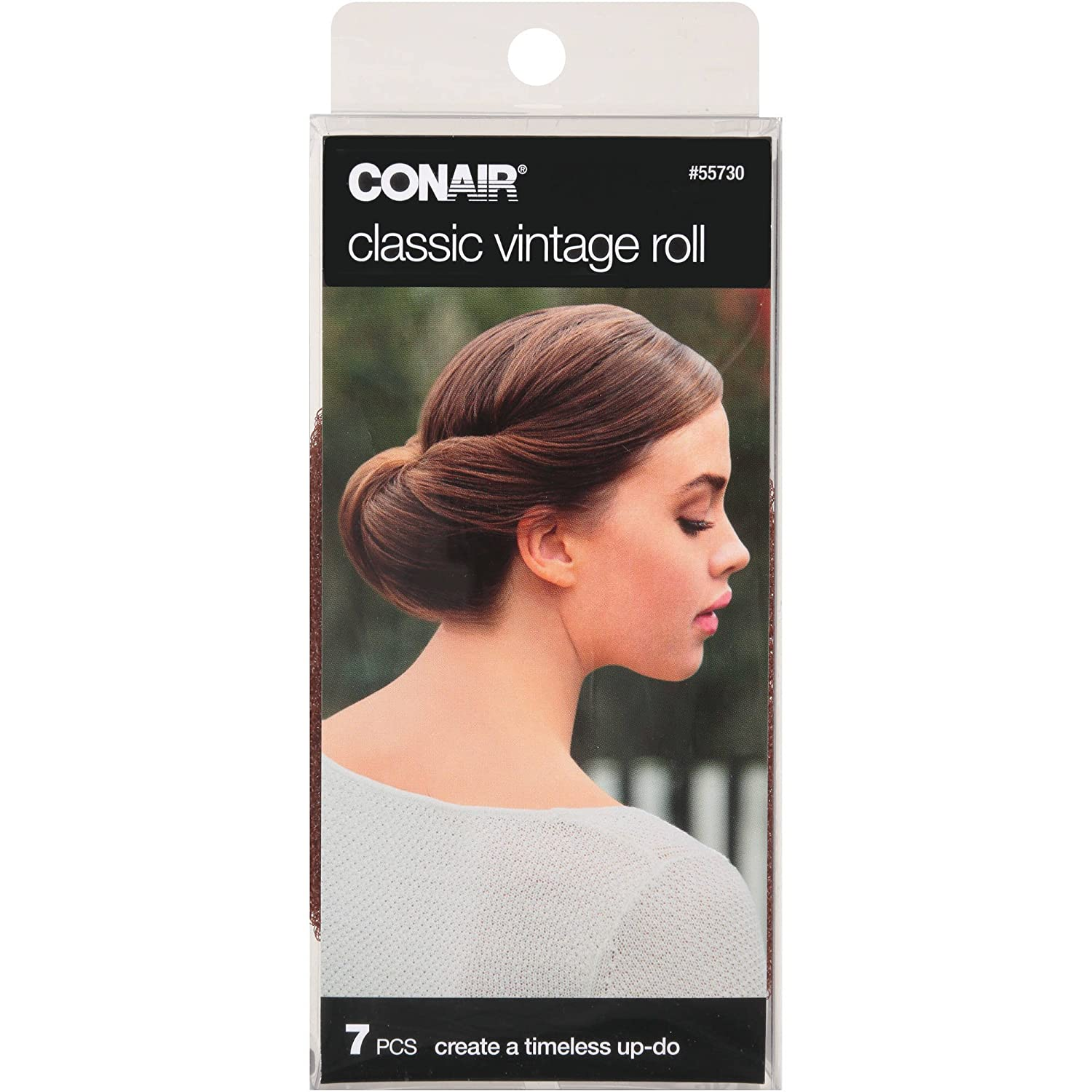 1940s Hair Snoods- Buy, Knit, Crochet or Sew a Snood Conair 55730 Classic Vintage Hair Roll 7 Piece Kit $5.08 AT vintagedancer.com